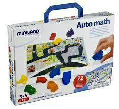 juguete educativo auto math