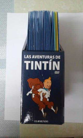 Tintin DVDs Coleccion
