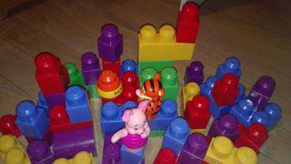 Juego mega blocks winnie the pooh