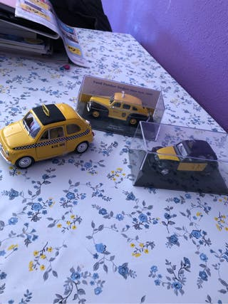 Coches taxi colleccion