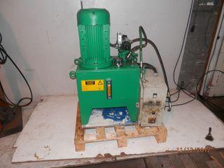 Grupo bomba hidráulica centralita hidraulica