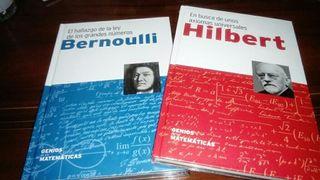 Libros genios de las matemáticas