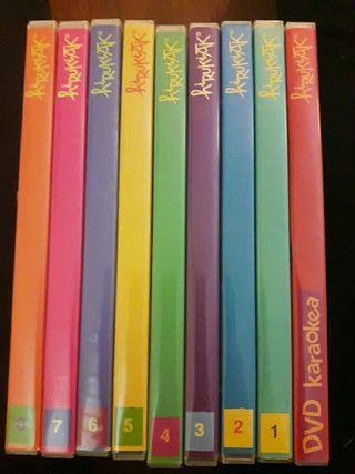DVDs hiru hirukiak