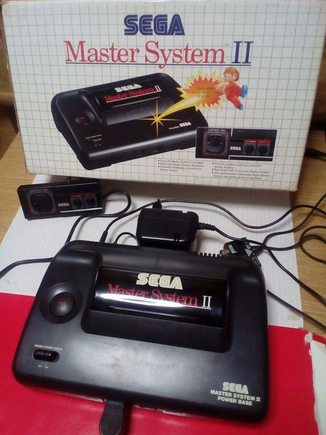 Master System Ii 2 Juego Alex Kidd En Memoria De Segunda Mano Por