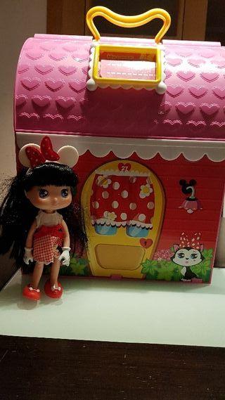 casa maletin Minnie Mousse