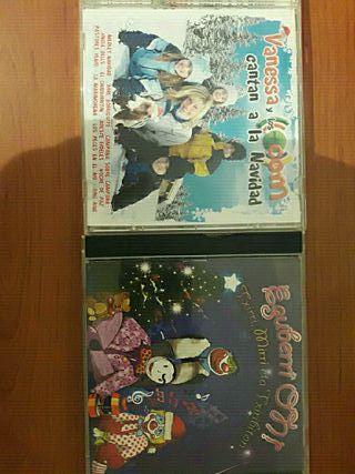 2 CDs de canciones de navidad