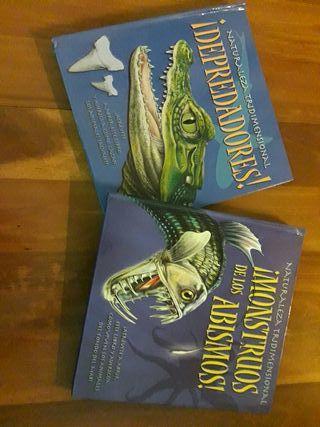 libros de naturaleza tridimensional