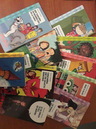 coleccion de varios libros trilingües