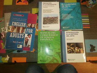libros acceso universidad uned