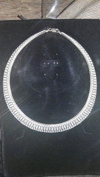 gargantilla plata