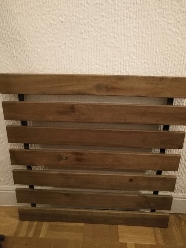 Mesa terraza madera ikea