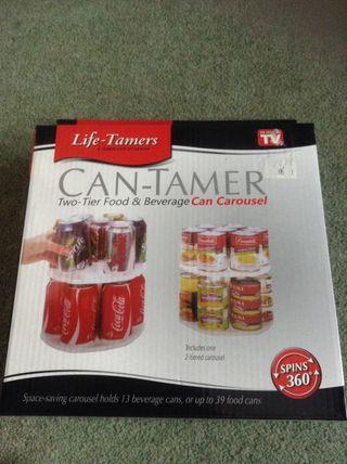 Can tamer / carousel