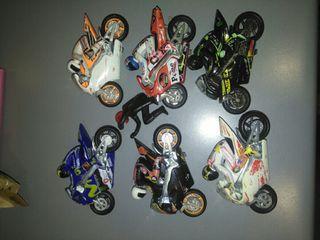 lote de motos de carrera guisval