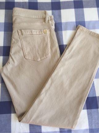 Pantalon beige Massimo Dutti. Talla 36