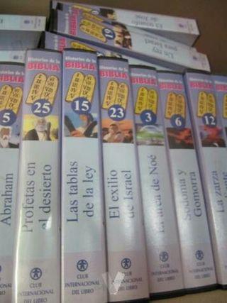 coleccion VHS de la Biblia para niños