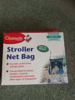 Stroller / pushchair/ pram net bag
