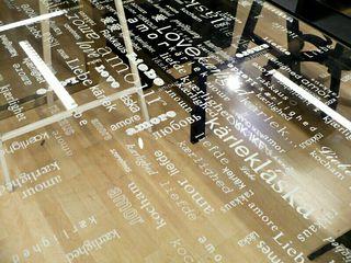 Mesa Escritorio de Vidrio Templado y Acero