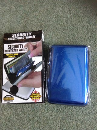 Security card wallet