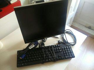 Pantalla y teclado