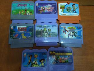 lote juegos consola vtech