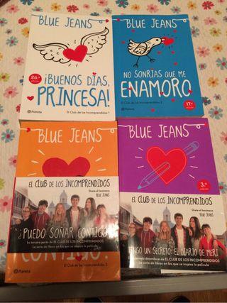 Los 4 Libros de BLUE JEANS
