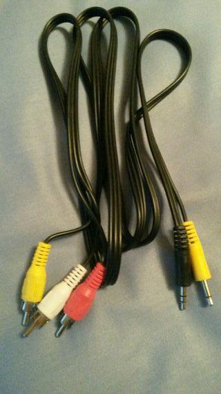 cables y más cables pc, audio y video