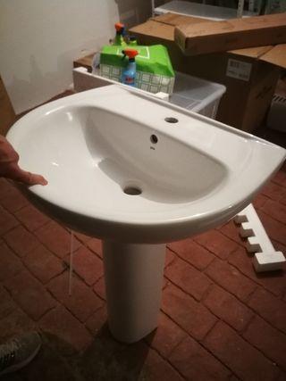lavabo y pie