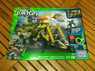 Mega Bloks camión batalla Tortugas Ninja