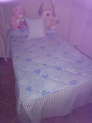 2 colchas de cama de 105
