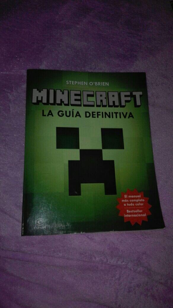 Libro guia definitiva Minecraft de segunda mano por 12 € en Osuna ...