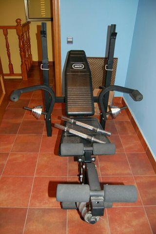 gimnasio de pesas