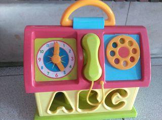 casita operaciones juguete bebes