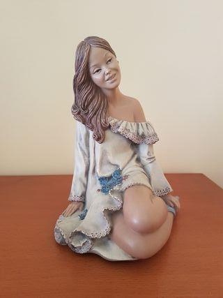 Figura Porcelana GALOS Serie Limitada