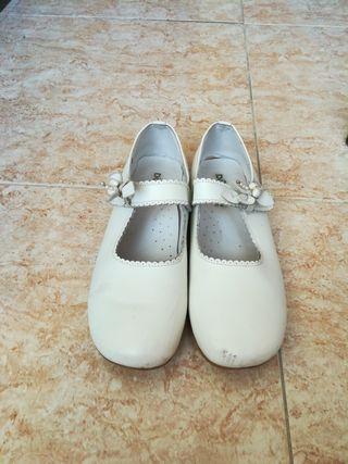 zapatos niña de comunion
