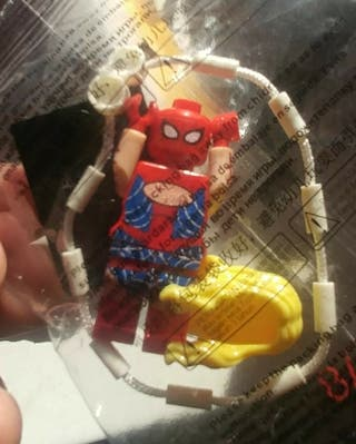 lote lego spiderman+naves