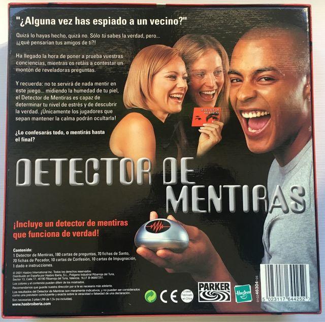 Juego De Mesa Detector De Mentiras De Segunda Mano Por 15 En