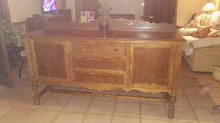 mueble madera antiguo
