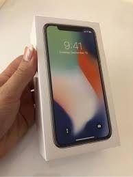 Iphone X de 256gb negro y plata precintado y libre