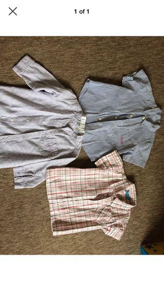 Boys shirt bundle 2yrs