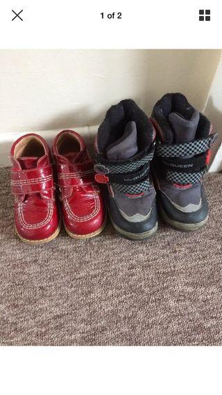 Boys shoes bundle 18mth-2yrs