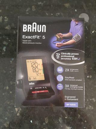medidor pulso y presión sanguínea braun excefit 5