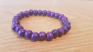 Unisex purple bracelet