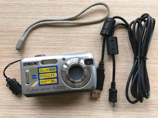 Camara digital Sony DSC-S600