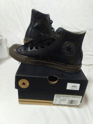 Botines Converse All Star, piel , num 38 y medio​,