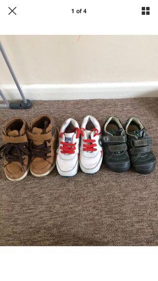 Boys shoes bundle 2-3yrs