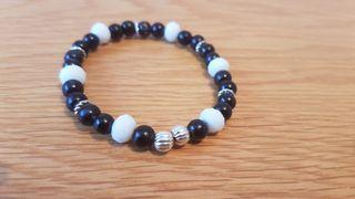 black and white bracelet