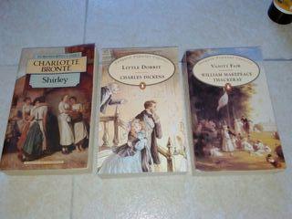 Novelas inglés