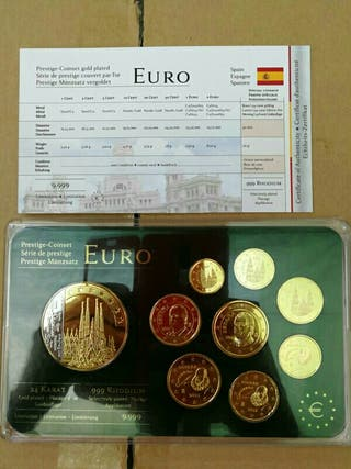 prestige coinset gold plated España