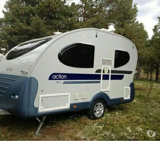 caravane Adria action