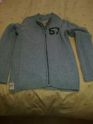 chaqueta chevignon punto talla 14 gris sin estrena